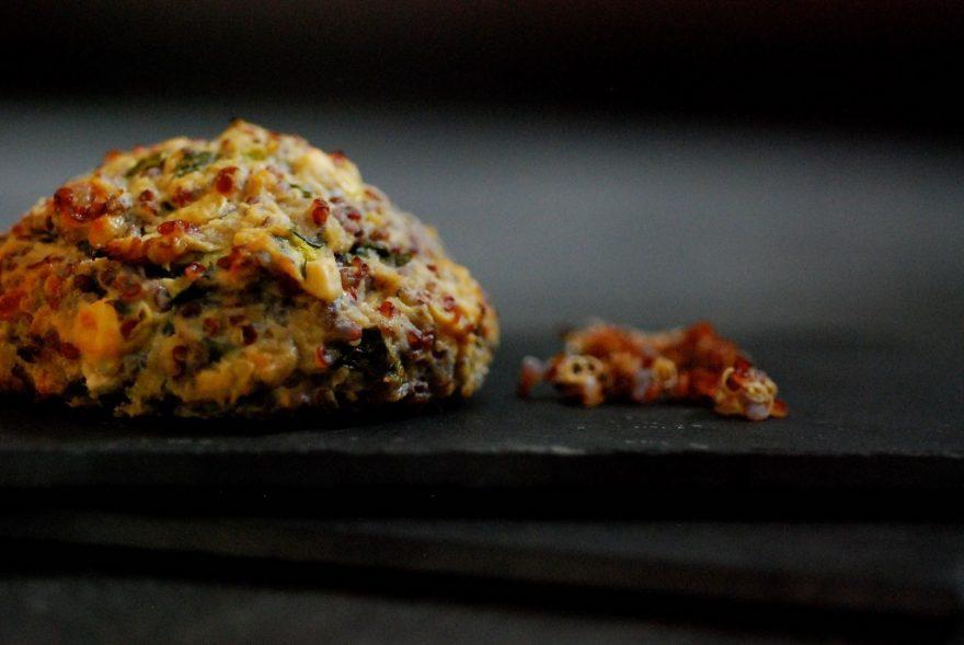 gehaktbal-kip-courgette-quinoa