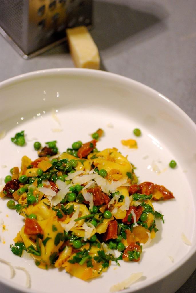 pasta-chorizo-erwtjes