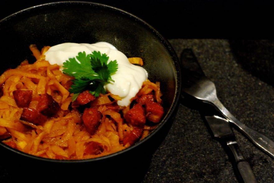 zoete-aardappel-chorizo