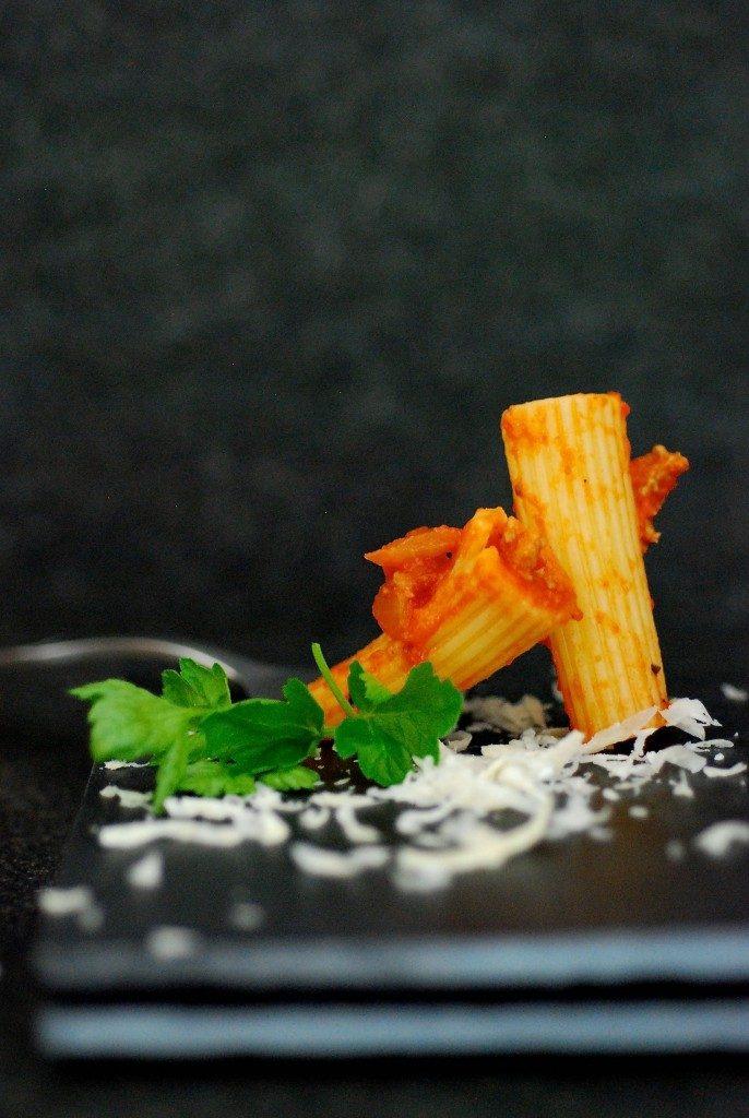 pasta-tomaat-gorgonzola-saus